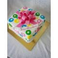 Радужный торт в СПб